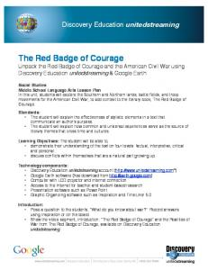 The Red Badge of Courage  Services
