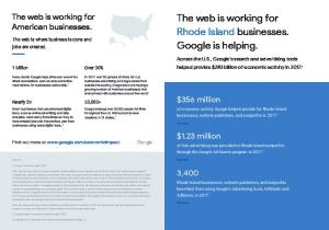 The web is working for Rhode Island businesses. Google is helping.