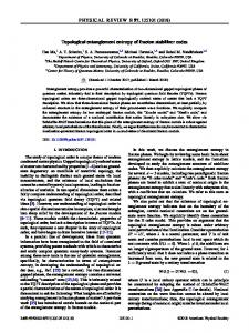 Topological entanglement entropy of fracton stabilizer ...