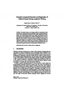 Towards Automated Detection and Regulation of ...