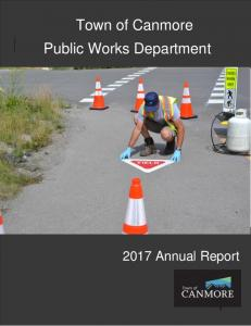 Town of Canmore Public Works Department