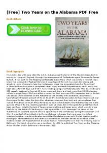 Two Years on the Alabama PDF Free