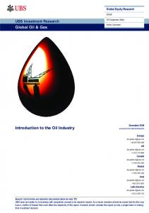 UBS Investment Research - Introduction to the Oil Industry.pdf ...