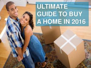 Ultimate Guide to Buy a Home in 2016 - DoCuRi