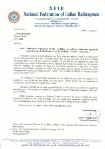 Unjustified stipulation of the condition on railway employees.PDF ...