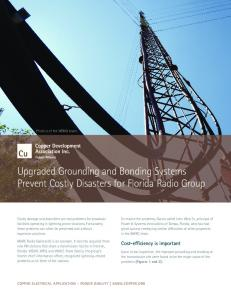 Upgraded Grounding and Bonding Systems Prevent Costly Disasters ...