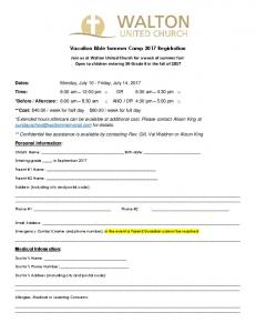Vacation Bible Summer Camp Registration Form 2017.pdf  ...