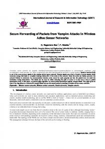 vampire attacks research paper - International Journal of Research in ...