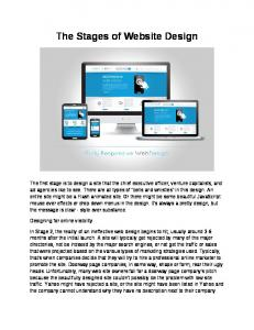 Web Design Taunton - The Stages of Website Design.pdf  ...