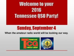 Welcome to your Tennessee QSO Party!