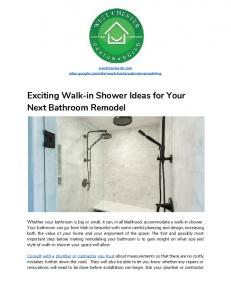 West Chester Bathroom Remodeling.pdf
