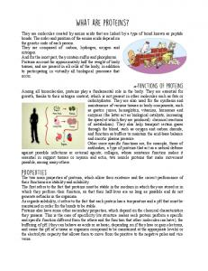 What are proteins.pdf