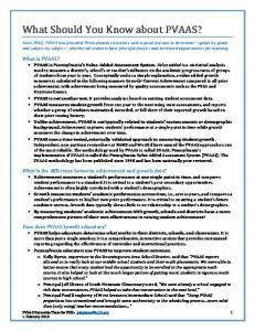 What Should You Know About PVAAS.pdf
