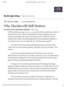 Why Machiavelli Still Matters - The New York Times.pdf