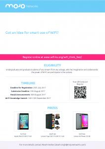 WiFi Think fest poster-A3 -