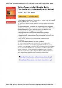Writing-Reports-Get-Results-Effective-0471143421-ebook.pdf ...