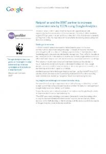 WWF increases conversion rate by 100% with the help of ...