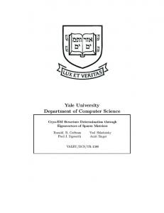 Yale University Department of Computer Science
